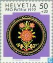 Briefmarken - Schweiz [CHE] - Volkskunst
