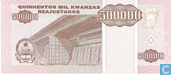Billets de banque - Angola - 1995 Issue - Angola 500.000 kwanzas Reajustados 1995
