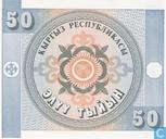 Billets de banque - Kyrgyz Republic - tyjyn Kirghizistan 50