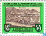 """Timbres-poste - Autriche [AUT] - Exposition """"marchés Menschen-Münzen '"""