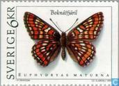 Postage Stamps - Sweden [SWE] - Butterflies