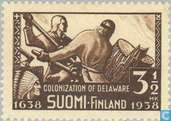 Postage Stamps - Finland - 350 Brown
