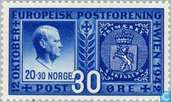 Postage Stamps - Norway - European Postal Union