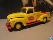 Modelauto's  - Johnny Lightning - Chevrolet Pick Up 'Coca-Cola'
