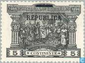 Postage Stamps - Portugal [PRT] - Postage stamps printed REPUBLICA