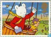 Postage Stamps - Great Britain [GBR] - Children's Book Characters