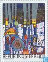 Timbres-poste - Autriche [AUT] - Friedensreich Hundertwasser