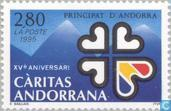 Postage Stamps - Andorra - French - Charity 15 years