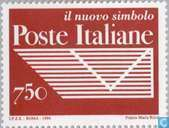 Postage Stamps - Italy [ITA] - New post emblem