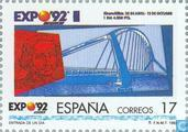 Postage Stamps - Spain [ESP] - Universal Exhibition in Seville