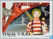 Postage Stamps - Italy [ITA] - Europe – The Circus