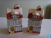 Peper en zoutstel huisjes