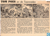 Strips - Bommel en Tom Poes - Tom Poes en de Toornviolen