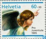 Postage Stamps - Switzerland [CHE] - Angels