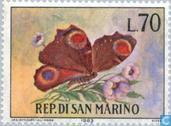 Postage Stamps - San Marino - Butterflies