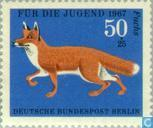 Postage Stamps - Berlin - Fur