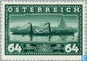 Postage Stamps - Austria [AUT] - Maiden voyage Vienna-Linz