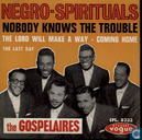 Vinyl records and CDs - Gospelaires, The - Negro-Spirituals