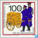 Postage Stamps - Berlin - Post History
