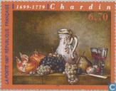 Timbres-poste - France [FRA] - Tableau Jean-Baptiste Chardin
