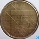 Coins - the Netherlands - Netherlands 5 gulden 2000