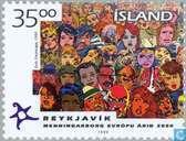 Briefmarken - Island - Kulturelles Kapital