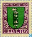 Timbres-poste - Suisse [CHE] - L'héraldique