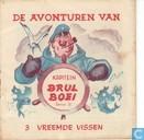 Comics - Kapitein Brul Boei - Vreemde vissen