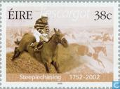 Postage Stamps - Ireland - Steeplechase