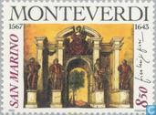 Postage Stamps - San Marino - Famous poets and composers