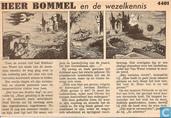 Comics - Bommel und Tom Pfiffig - Heer Bommel en de wezelkennis