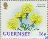 Postzegels - Guernsey - Bloemen