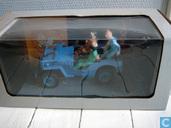 Modelauto's  - Hapax s.a. - Kuifje blauwe jeep