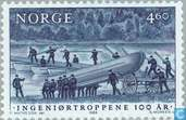 Postage Stamps - Norway - 460 blue