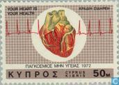 Briefmarken - Zypern [CYP] - World Heart Monat