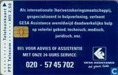 GESA Assistance, bel voor advies...