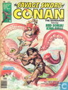 Comic Books - Conan - The Savage Sword of Conan the Barbarian 23