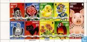 Postage Stamps - Jersey - Greeting Stamps