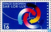 Postage Stamps - Luxembourg - European Saar-Lor-Lux
