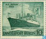 Briefmarken - Berlin - Motorschiff Berlin