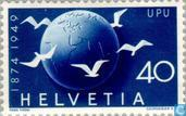 Postage Stamps - Switzerland [CHE] - 75 years of UPU