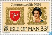 Timbres-poste - Man - Conférence du Commonwealth
