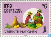 Timbres-poste - Nations unies - Vienne - FIDA
