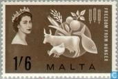Postage Stamps - Malta - Fight against hunger