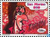 Postage Stamps - San Marino - Comics