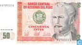 Peru 50 Intis