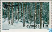 Timbres-poste - Suède [SWE] - Europe – Paysages