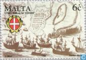 Postage Stamps - Malta - End of rule 200 years Johnaniter