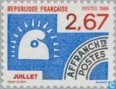 Briefmarken - Frankreich [FRA] - Juli