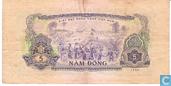 Banknoten  - Ngan Hang Viët Nam - Vietcong 5 Dong